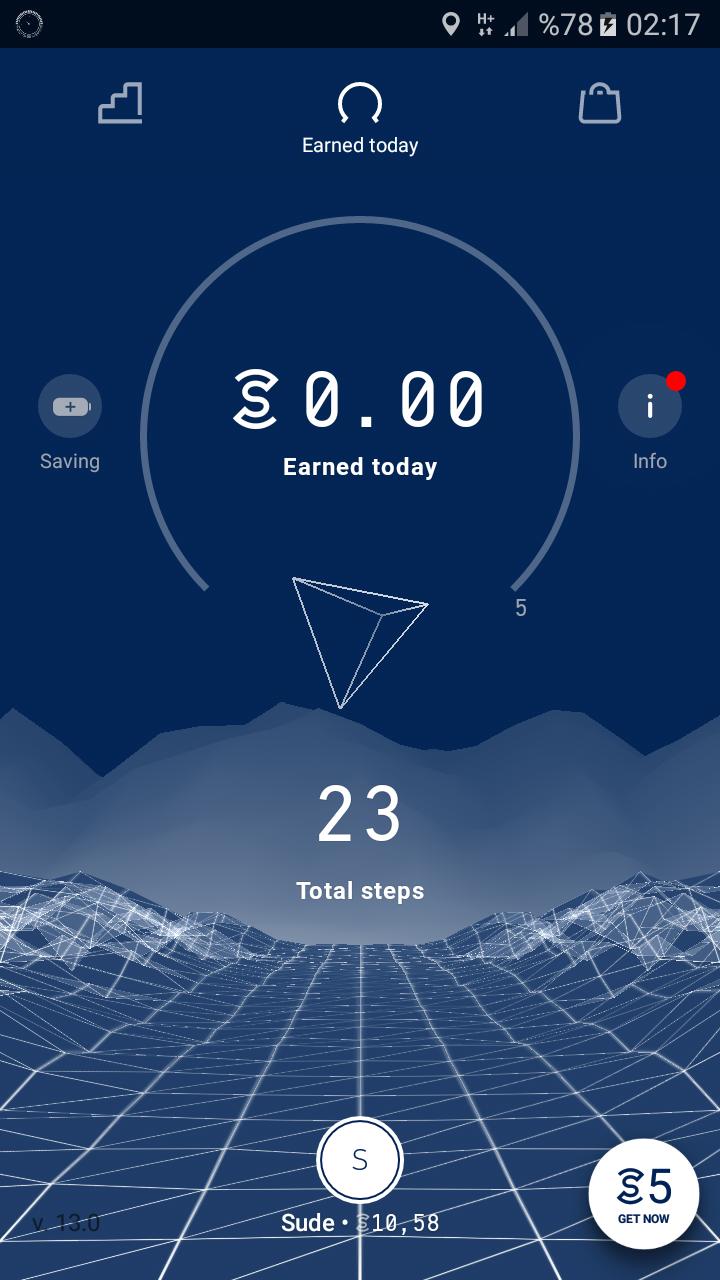 SWEATCOIN diye bir uygulama var yürüyerek para kazaniyorsunuz aşağıda linkte ?