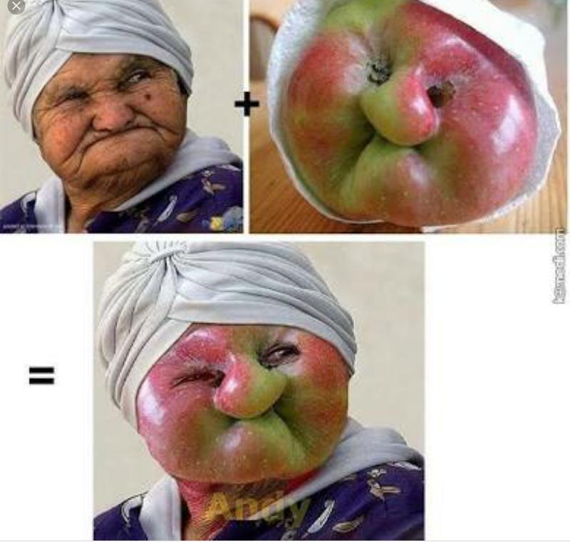 Oh ya yaşlı kadını kime benzetiklerini gördünüzu