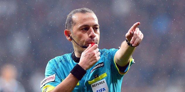 Galatasaray- Başakşehir maçının hakemi kim oldu ?