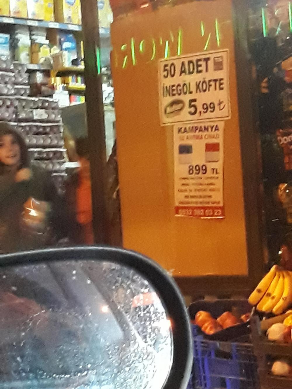 50 tane İnegöl köfteyi 6 liraya satan market hakkında ne düşünüyorsunuz?